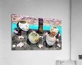 Japanese Vase Display  Acrylic Print