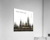 Urban Art NYC Skyline  Acrylic Print