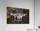Colorful Quad Copter  Acrylic Print
