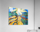Jana A. Trees in the Sun  Impression acrylique
