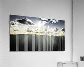 Selkirk Mountain ridge Line Kaslo BC  Acrylic Print
