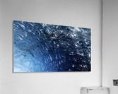 Glacier ICE formation   Acrylic Print