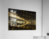Cold refection under the B.O.B Nelson BC  Acrylic Print