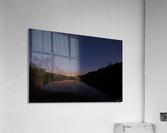 Starlit Pond  Acrylic Print