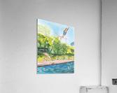 Barton Springs. Zach C  Acrylic Print