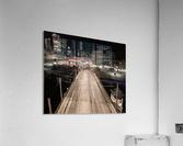 Milwaukee Bridge of The Past  Acrylic Print