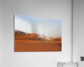 Merzouga sunrise  Impression acrylique