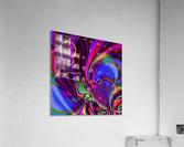 Hasta_El_Fuego_1  Acrylic Print