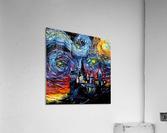 Castle Starry Night print van Gogh parody  Acrylic Print