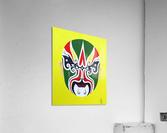 Cheng Yaojin - Chinese Opera Mask  Acrylic Print