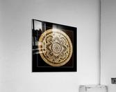 Nepali Goldwork: Peace  Acrylic Print