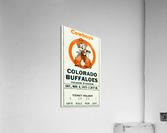 1975_College_Football_Oklahoma State vs. Colorado_Folsom Field_Boulder_Row One  Acrylic Print