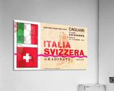 1967_Soccer_Italy vs. Switzerland_Cagliari Stadium_Row One  Acrylic Print