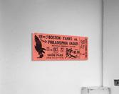 1944_National Football League_Boston Yanks vs. Philadelphia Eagles_Shibe Park_Row One  Acrylic Print