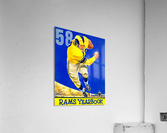 1958 LA Rams Football Yearbook Cover Art  Acrylic Print