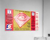 1970_Major League Baseball_World Series_Cincinnati Reds vs. Baltimore Orioles_Riverfront Stadium  Acrylic Print