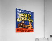 1936 Biggest Match Yet Joe Louis Fight  Acrylic Print