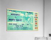 1941_College_Football_Arizona vs. Notre Dame_Notre Dame Stadium_South Bend_Row One Brand  Acrylic Print