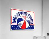 1971_American Basketball Association_Memphis Pros_Row One Brand  Acrylic Print