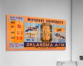 1950_College_Oklahoma vs. Oklahoma State_Lewis Field_Stillwater_Row One Brand  Acrylic Print