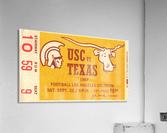 1967 USC vs. Texas   Acrylic Print
