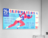1966_Track and Field_California Relays_Row One Brand  Acrylic Print