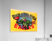 Vintage Philadelphia Eagles QB Art  Acrylic Print