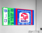 1972_College_Football_Baylor vs. SMU_Cotton Bowl Stadium_Dallas_Row One Brand  Acrylic Print