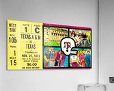 1973_College_Football_Texas vs. Texas A&M_Kyle Field_College Station_Row One Brand  Acrylic Print