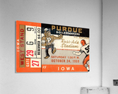 1959 Purdue vs. Iowa  Acrylic Print