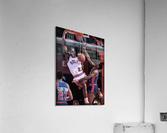 1985 Michael Jordan Dunk Wall Art Print   Acrylic Print