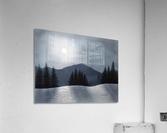 Mountain Moon  Acrylic Print