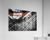 Street long exposure  Acrylic Print