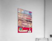 1966 St. Louis Cardinals Opening Game New Busch Stadium Scorecard Kroger Food Ad Poster  Acrylic Print