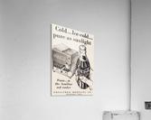 Vintage Coke Ad Bloomington Indiana  Acrylic Print