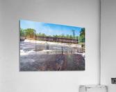 Watson Mill Bridge State Park   Comer GA 06860  Acrylic Print