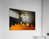Reading Pennsylvania Skyline Wall Art  Acrylic Print