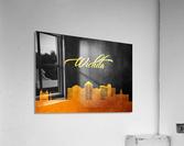 Wichita Kansas Skyline Wall Art  Acrylic Print