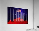 Fort Worth Texas Skyline Wall Art  Acrylic Print