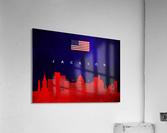 Jackson Florida Skyline Wall Art  Acrylic Print