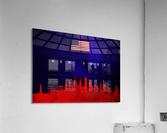 New York New York Skyline Wall Art  Acrylic Print