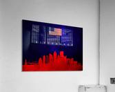 Pittsburgh Pennsylvania Skyline Wall Art  Acrylic Print