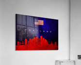 Portland Oregon Skyline Wall Art  Acrylic Print