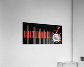 baltimore orioles retro remix row one  Acrylic Print