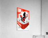 hal decker artist baltimore orioles poster  Acrylic Print