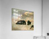 Grizzly Bears by Bierstadt  Acrylic Print