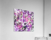 Reflecting the purple water  Acrylic Print