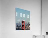 Threading the Needle - Golden Gate Bridge  Acrylic Print