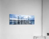 Huntington Beach Pier Panorama  Acrylic Print