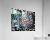 Harmonie en vert  Acrylic Print